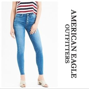 AE Super Hi Rise Jegging Button Fly Next Level